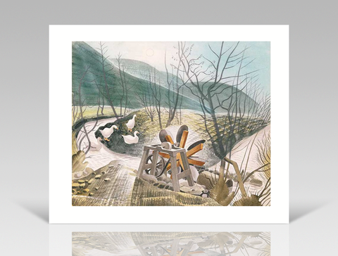 Eric Ravilious - The Waterwheel