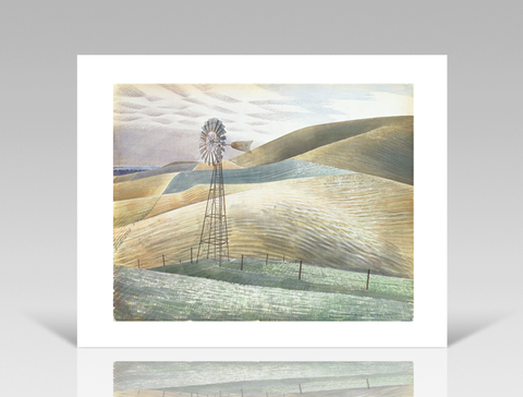 Eric Ravilious - Windmill