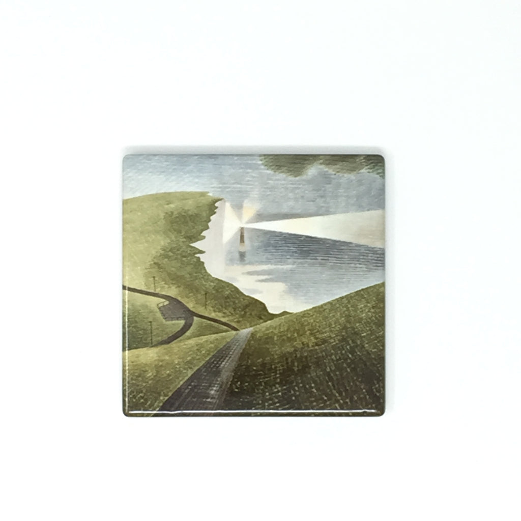 Eric Ravilious, Beachy Head - Ceramic Coaster
