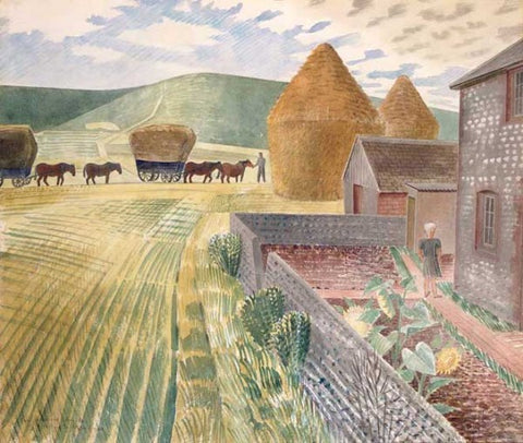 Eric Ravilious, Furlongs (1934) - Limited Edition Giclee Print