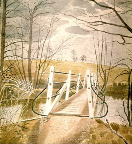 Eric Ravilious, Ironbridge at Ewenbridge (1942) - Limited Edition Giclee Print