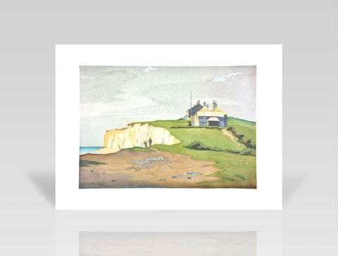 Eric Slater, The Coastguard Station (1930) - Limited Edition Giclee Print