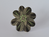 Corsage Ceramic Brooch (Green), design by Eric Ravilious