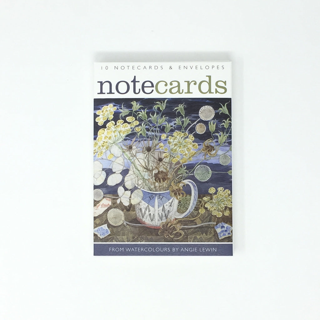Angie Lewin Notecards - pack of 10 cards / 5 each, 2 designs NL100