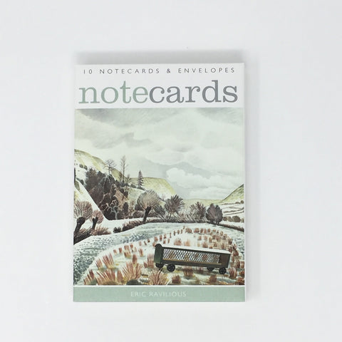 Eric Ravilious & Edward Bawden Notecards 10 cards / 5 each, 2 designs NL88