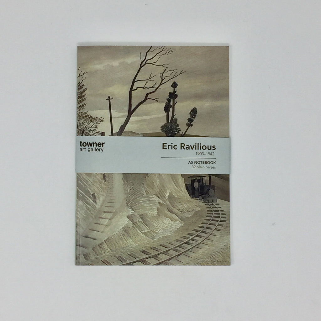 Ravilious A5 notebook - 'Dolly Engine'