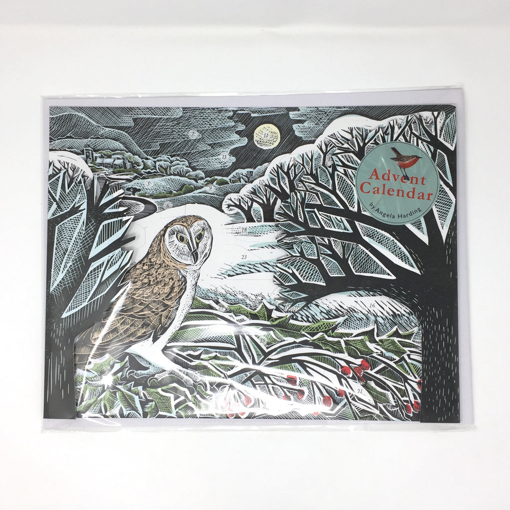Advent Calendar 'Owls in Winter' by Angela Harding