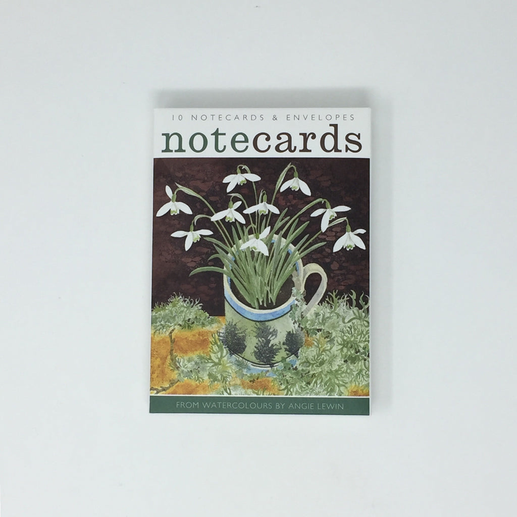Angie Lewin Notecards - pack of 10 cards / 5 each, 2 designs NL110