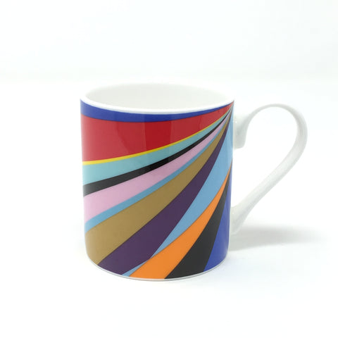 Lothar Götz, Dance Diagonal Bone China Mug - Exclusive to Towner - stock due mid November