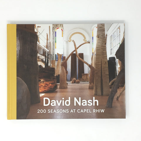 David Nash - 200 Season at Capel Rhiw