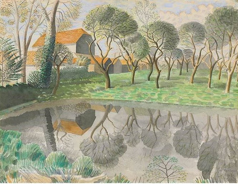 Ravilious, Eric - Newt Pond - Limited Edition Giclee Print