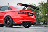 CMST Tuning Audi S3 RS3 2014 - 2016 Carbon Fiber Rear Diffuser