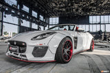 CMST Jaguar F-Type 2014-ON Carbon Fiber Side skirts (Fit CMST Widebody kit only)