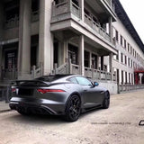 CMST Jaguar F-Type 2014-ON Carbon fiber Rear Diffuser ( 3Pcs Center Exit Dual Tips)