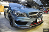 CMST Tuning Carbon Fiber Front Lip ( 2 Pcs) for Mercedes Benz C117 2014-2016 CLA250 CLA45 AMG