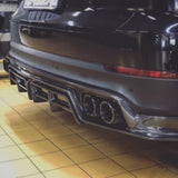 CMST Porsche Cayenne 9Y0 2018-ON Carbon Fiber Rear Diffuser