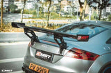 CMST Tuning Carbon Fiber Rear Spoiler Wing For Audi TT TTS MK2 8J 2007-2015