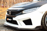 CMST Tuning Honda 10th Gen Civic Carbon Fiber Front Grill & Eye Lid Eyebrows