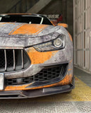 CMST Tuning Maserati Ghibli 2018-ON Carbon Fiber Front Lip