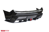 CMST Ford Mustang S550.2 2018- 2020 Rear Bumper With Diffuser