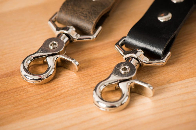 Leather key chain - Fraxinus 10