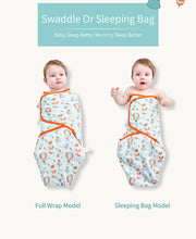 Load image into Gallery viewer, Swaddle Sleep Sack for Babies 0-7 Months (2pcs) - Babes & Boho