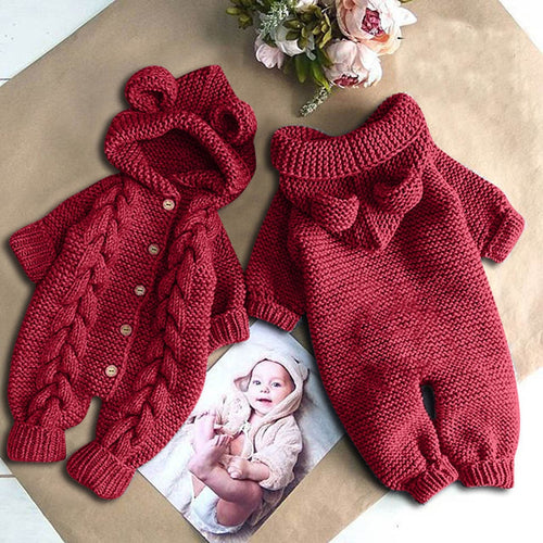 Hooded Baby Jumpsuit - Babes & Boho