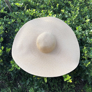 Wide Brimmed Straw Beach Hat in 3 Colors - Babes & Boho