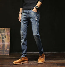 Load image into Gallery viewer, Men's Boot Cut Casual Slim Jeans - Babes & Boho