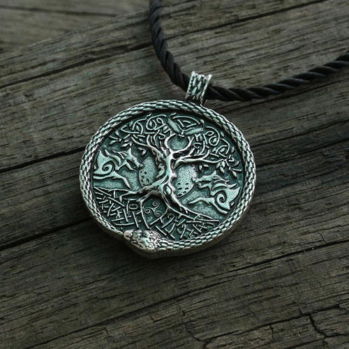 Vintage World Tree Pendant - Babes & Boho
