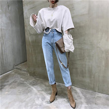 Load image into Gallery viewer, 90's High Waist Jeans - Boho Baby Clothing Company