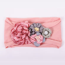 Load image into Gallery viewer, Girl's Bohemian Flower Headband Wrap - Babes & Boho