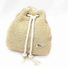 Load image into Gallery viewer, Woven Drawstring Bag - Babes & Boho