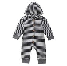 Load image into Gallery viewer, Organic Cotton Hooded Jumpsuit - Babes & Boho