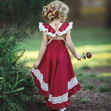 Load image into Gallery viewer, Long Bohemian Girl's Dress - Babes & Boho