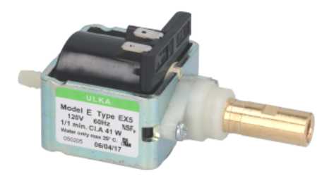 ULKA Pump EX5 120V, 41 Watts, 60 Hz - Parts Guru