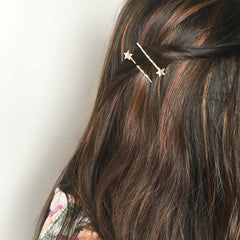 Set of 2 Stars Bobby Pins