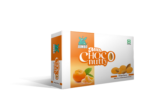 JUMBO ORANGE MILK CHOCO NUTTY 30G PACK