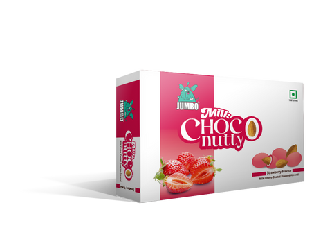 JUMBO STRAWBERRY MILK CHOCO NUTTY 30G PACK