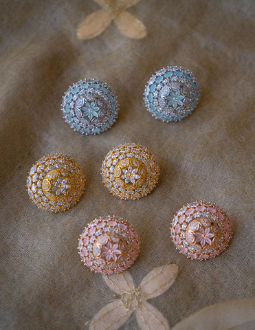 Dome Flower AD Studs