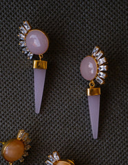 Sun Marble Earrings