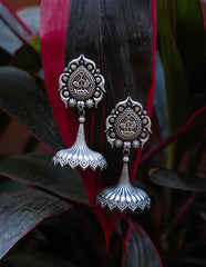 GS Intricate Umbrella Jhumkas