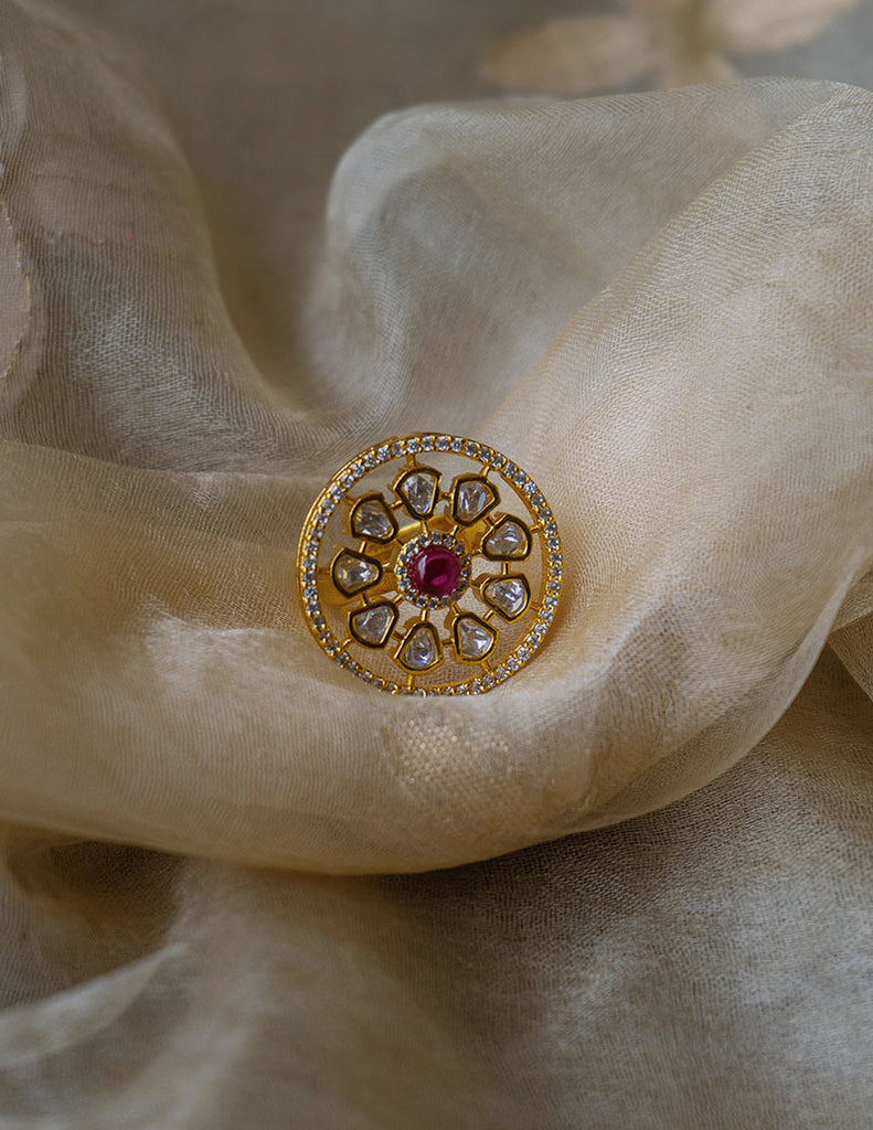 Circle AD Ruby Ring