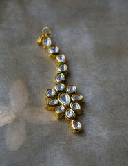 Small Kundan drop Teeka