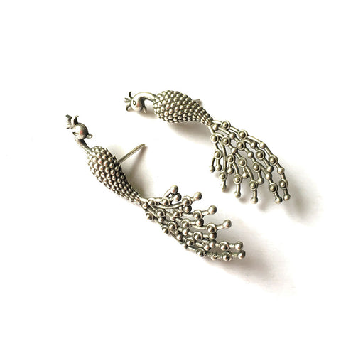 GS Peacock Earrings
