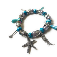 Blue Starfish Bracelet