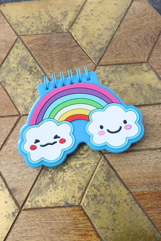 Silicon Rainbow Notepad