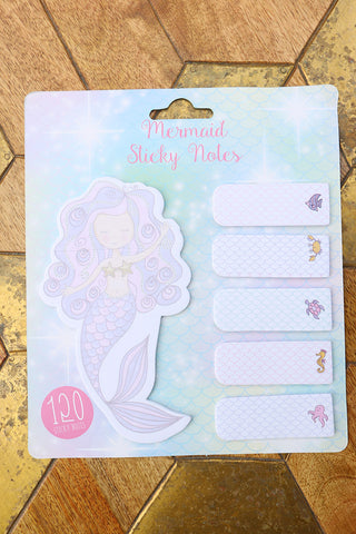Mermaid Sticky Notes