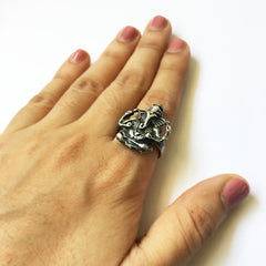 GS Ganesha Finger Ring