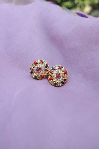 92.5 Silver Multiple Oval Studs